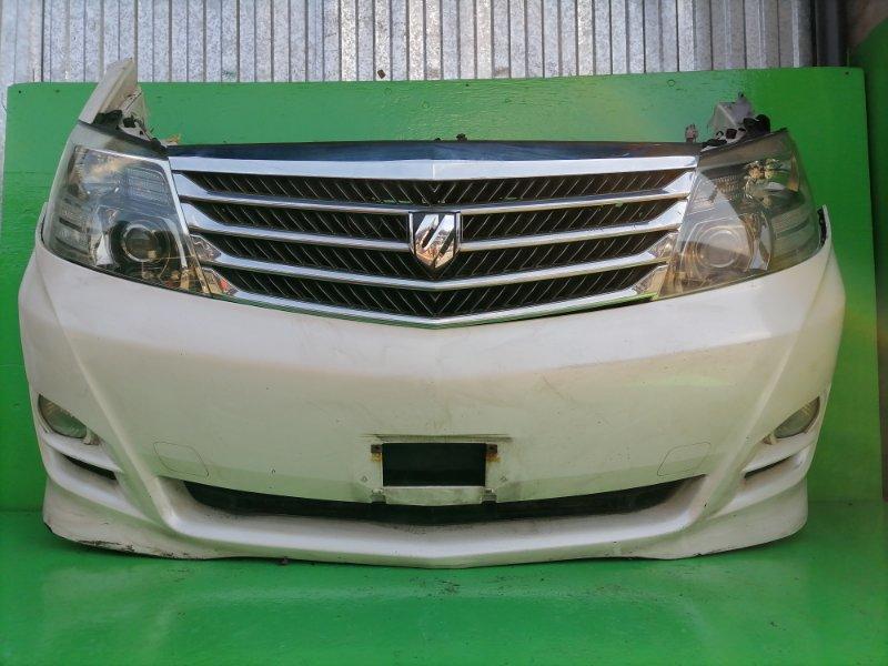 Ноускат Toyota Alphard ANH15 2007 (б/у) фара 58-17 тёмный оттенок