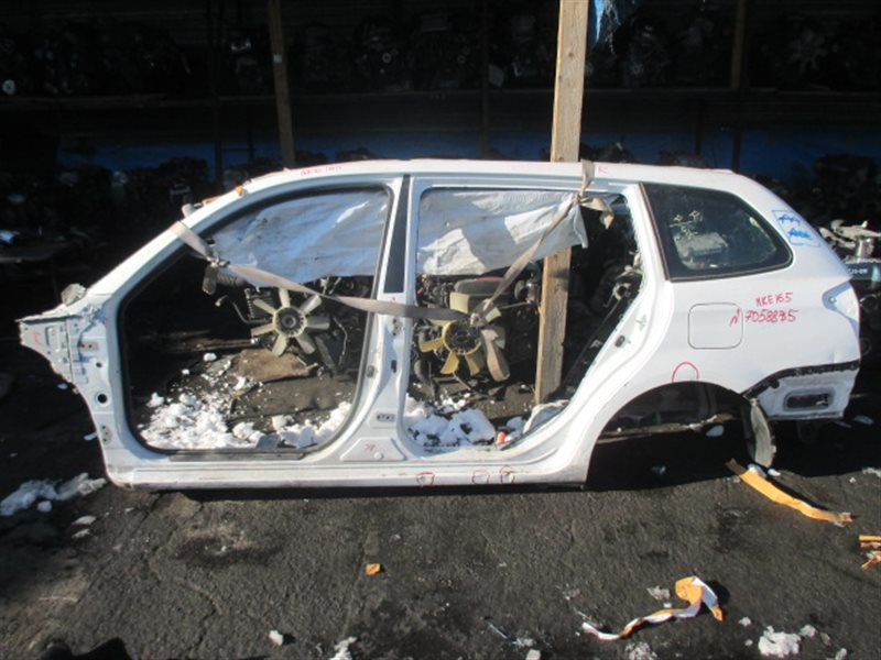 Крыло Toyota Fielder NKE165 заднее левое (б/у)