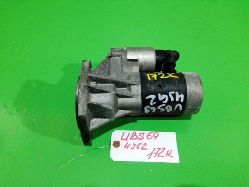 Стартер Isuzu Bighorn UBS69 4JG2-TE (б/у)