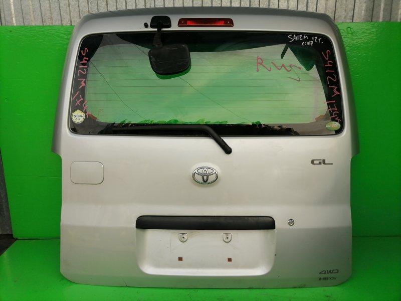 Дверь задняя Toyota Town Ace S412M 2012 (б/у)