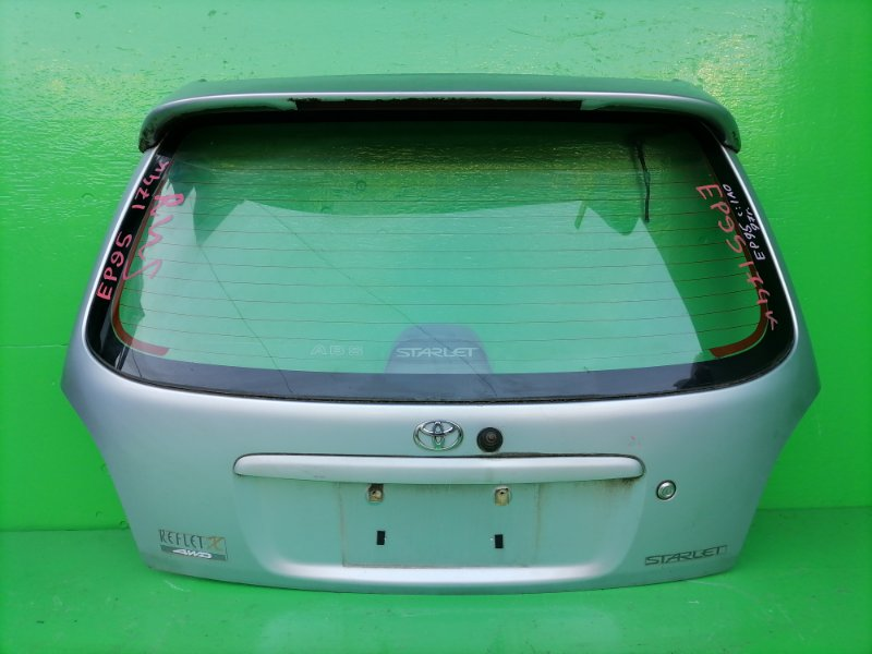 Дверь задняя Toyota Starlet EP95 1997 (б/у)