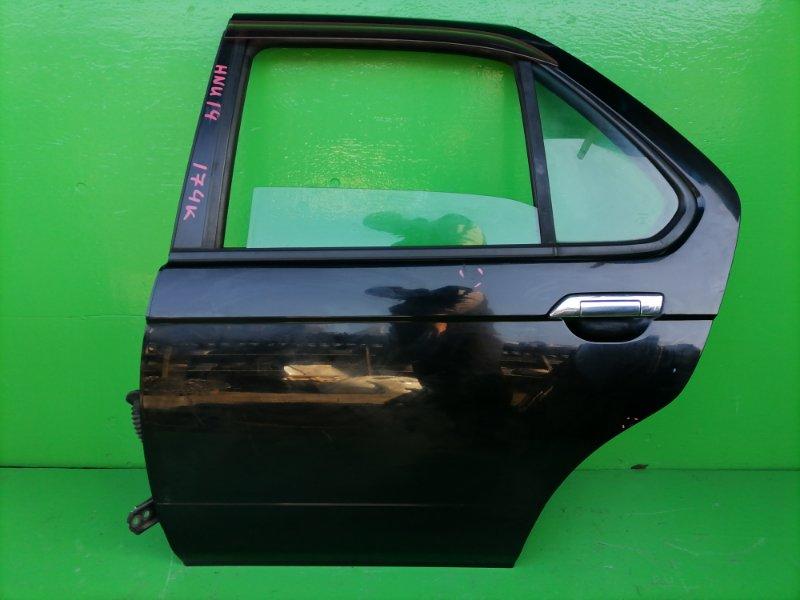 Дверь Nissan Bluebird U14 задняя левая (б/у)