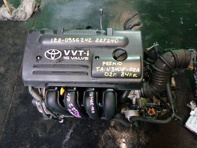 Двигатель Toyota Premio ZZT240 1ZZ-FE 2002 (б/у)