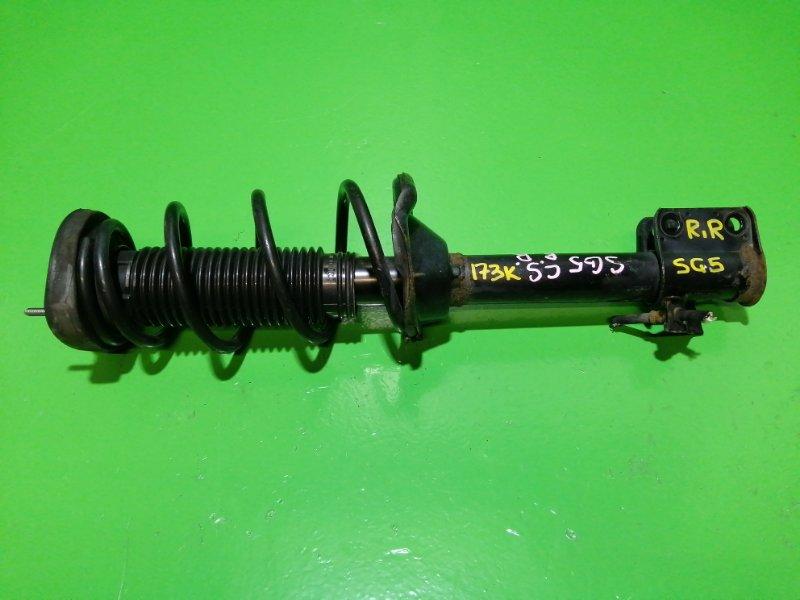 Стойка Subaru Forester SG5 задняя правая (б/у)