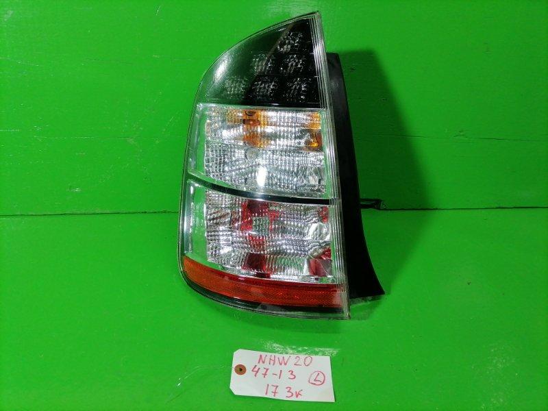 Стоп-сигнал Toyota Prius NHW20 левый (б/у)