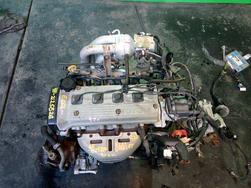 Двигатель Toyota Corsa EL51 4E-FE 1997 (б/у)