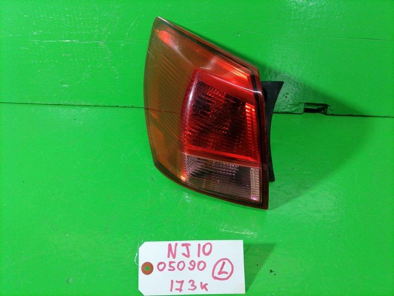 Стоп-сигнал Nissan Dualis NJ10 левый (б/у)