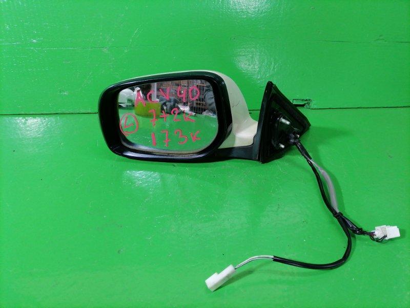 Зеркало Toyota Camry ACV40 левое (б/у)