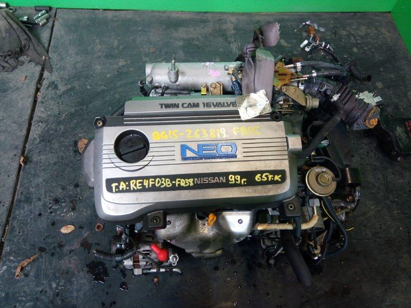 Двигатель Nissan Sunny FB15 QG15-DE 1999 (б/у)