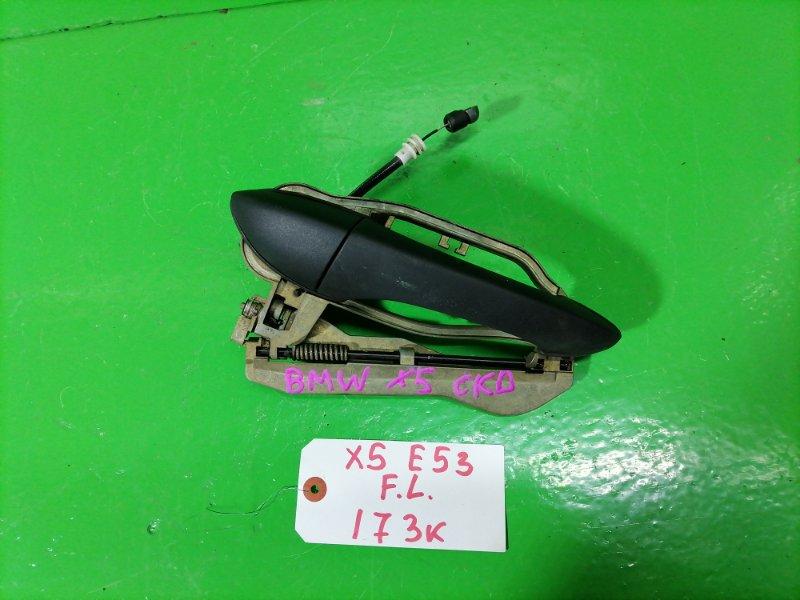 Ручка двери внешняя Bmw X5 E53 передняя левая (б/у)