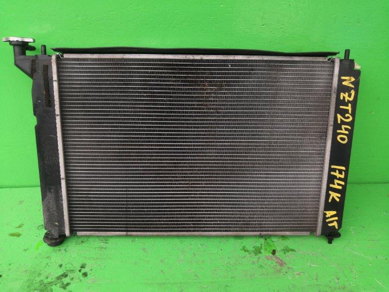 Радиатор основной Toyota Premio NZT240 (б/у)