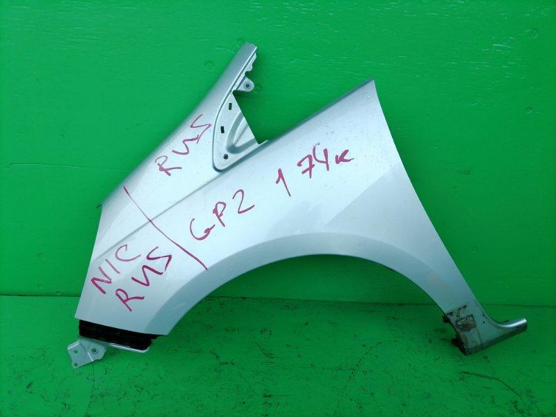 Крыло Honda Fit Shuttle GP2 2011 переднее левое (б/у)