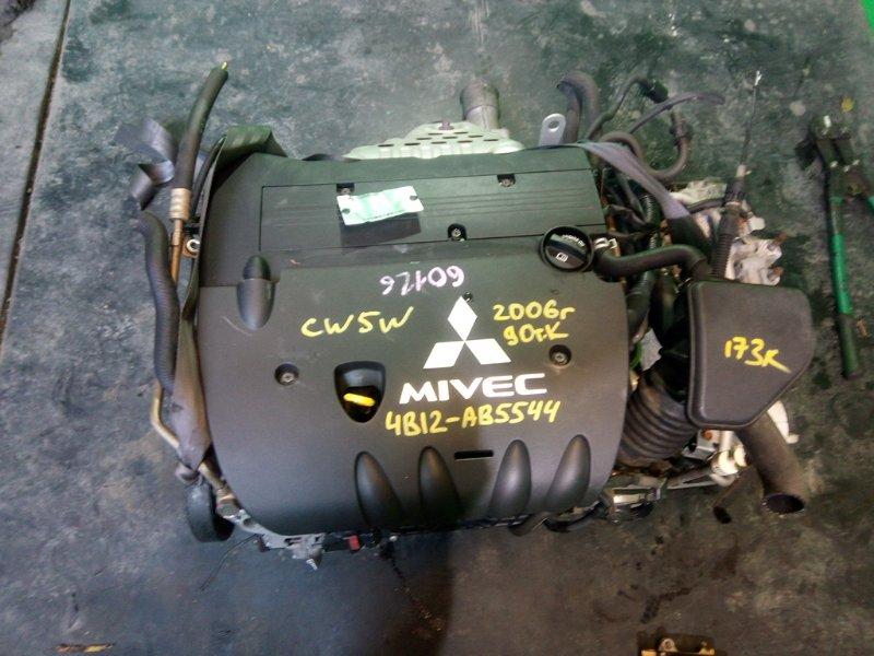 Двигатель Mitsubishi Outlander CW5W 4B12 2006 (б/у)