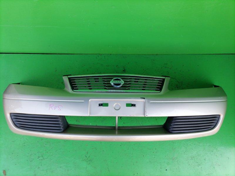 Бампер Nissan Sunny FB15 передний (б/у)
