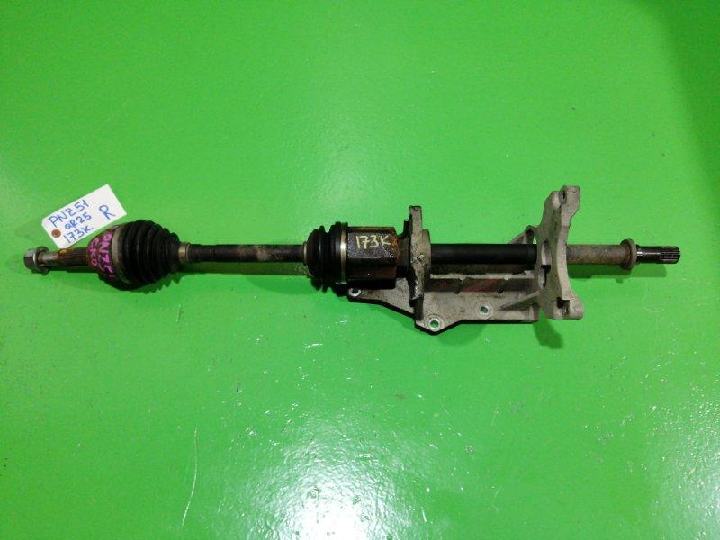 Привод Nissan Murano Z51 QR25-DE передний правый (б/у)
