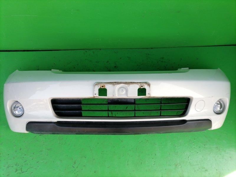 Бампер Toyota Ist NCP65 передний (б/у)