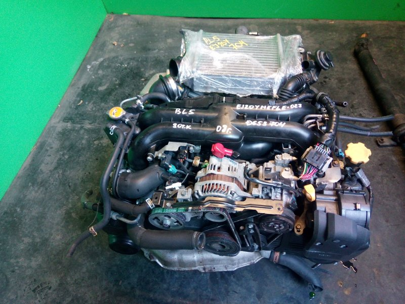 Двигатель Subaru Legacy BL5 EJ20YHEFLE 2008 (б/у)