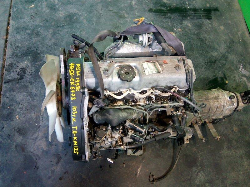 Двигатель Mitsubishi Delica P15W 4D56 1998 (б/у)