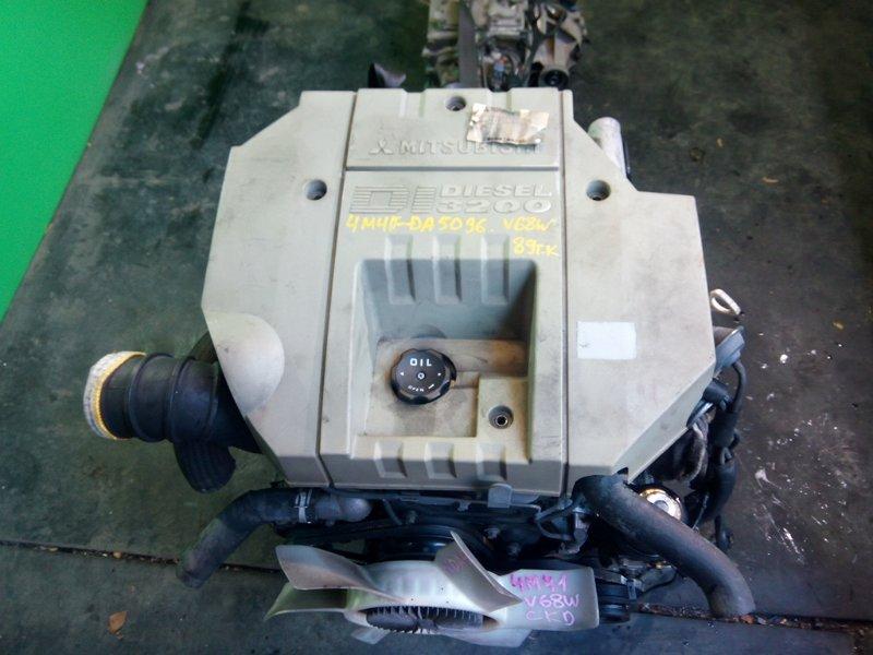 Двигатель Mitsubishi Pajero V68W 4M41-TE (б/у)