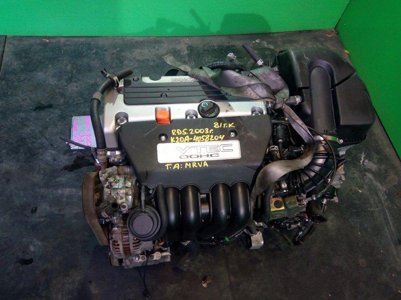 Двигатель Honda Crv RD5 K20A 2003 (б/у)