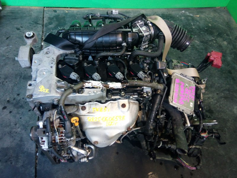 Двигатель Nissan Murano Z51 QR25-DE 2010 (б/у)