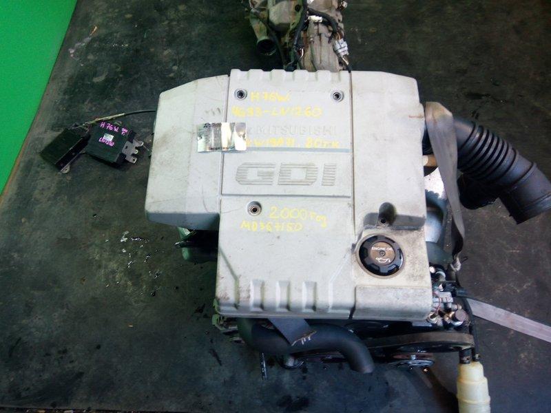 Двигатель Mitsubishi Pajero Io H76W 4G93 2000 (б/у)