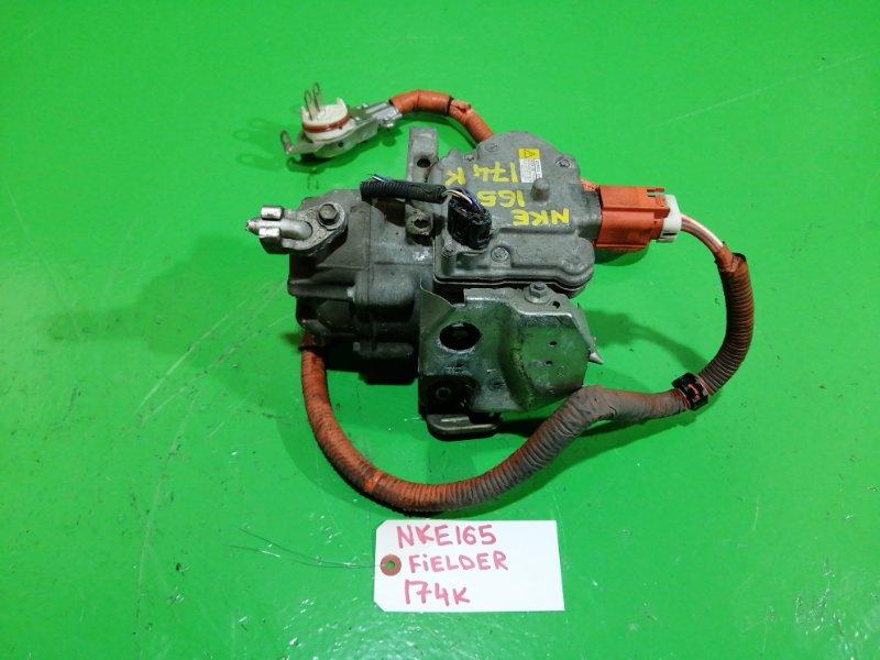 Компрессор кондиционера Toyota Fielder NKE165 1NZ-FXE (б/у)