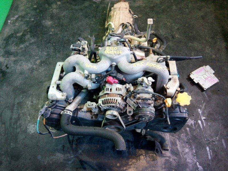 Двигатель Subaru Forester SH5 EJ204 2008 (б/у)