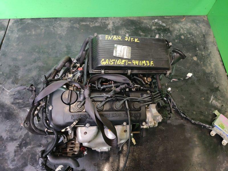 Двигатель Nissan Sunny FNB14 GA15-DE (б/у)