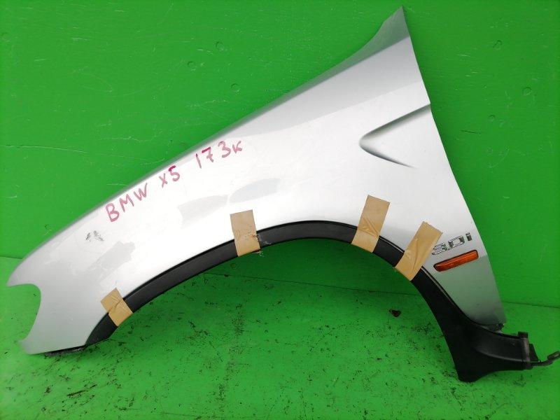 Крыло Bmw X5 E53 переднее левое (б/у)
