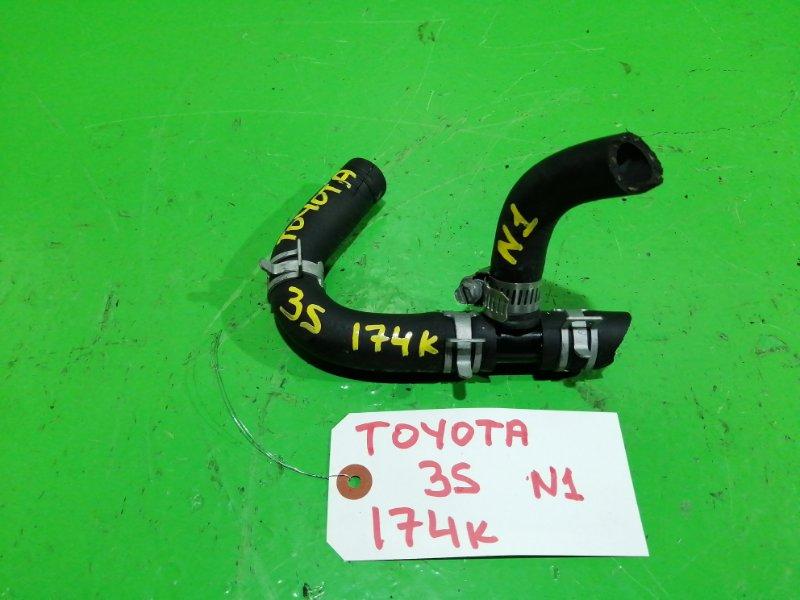 Тройник печки Toyota 3S-FE (б/у) №1
