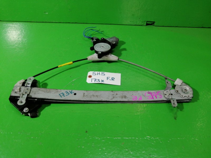 Стеклоподъемник Subaru Forester SH5 передний правый (б/у)