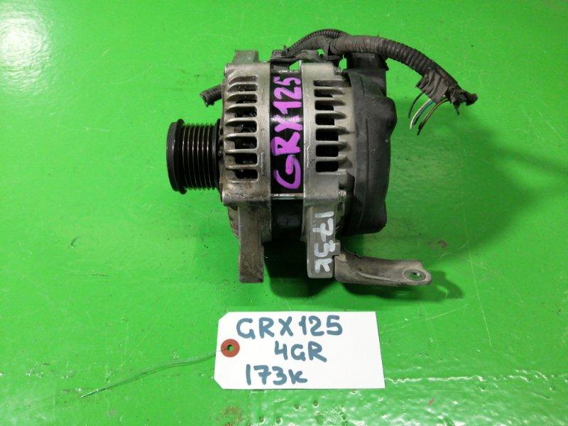 Генератор Toyota Mark X GRX125 4GR-FSE (б/у)