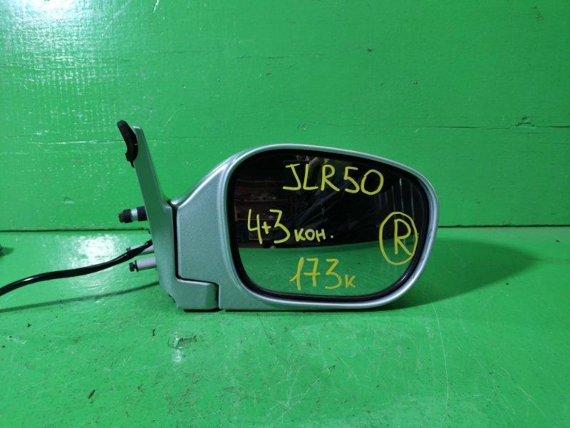 Зеркало Nissan Terrano R50 правое (б/у)