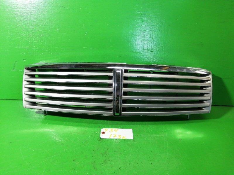 Решетка радиатора Nissan Cedric Y34 (б/у)