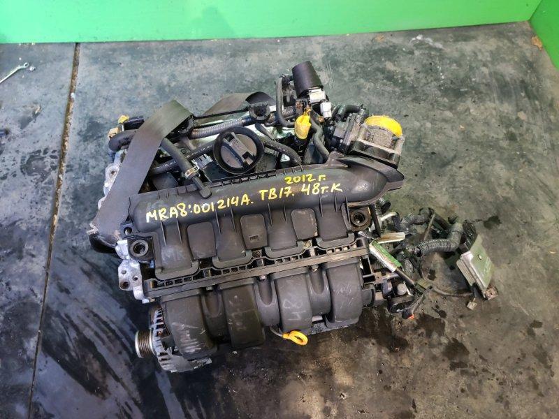 Двигатель Nissan Sylphy TB17 MRA8 (б/у)