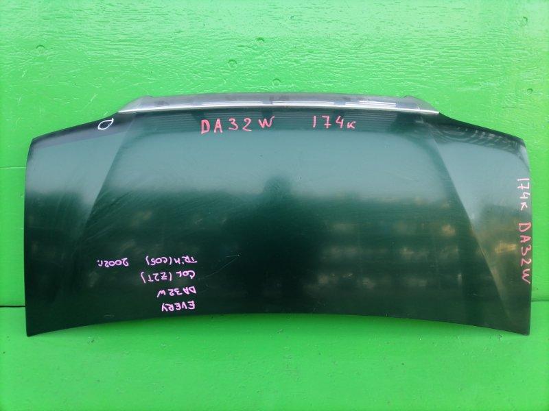 Капот Suzuki Every DA32W 2002 (б/у)