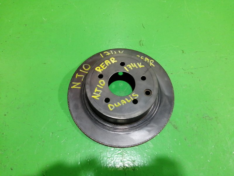 Тормозной диск Nissan Dualis J10 задний (б/у)