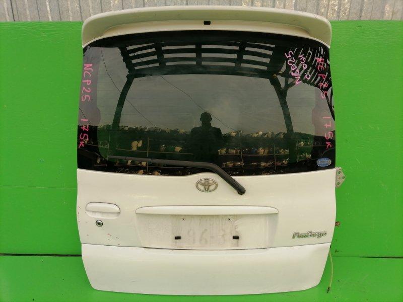 Дверь задняя Toyota Funcargo NCP25 (б/у)
