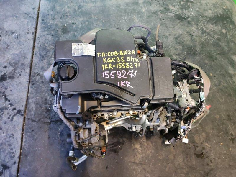 Двигатель Toyota Passo KGC35 1KR-FE (б/у)