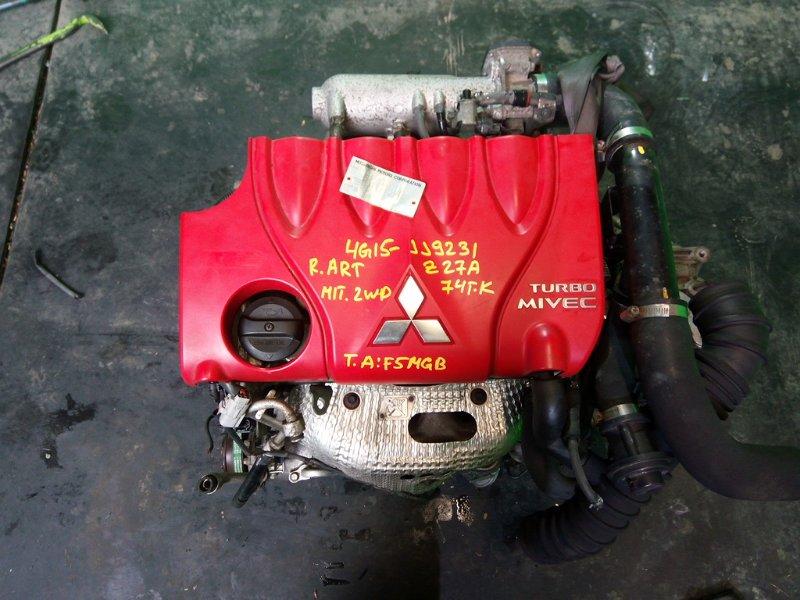 Двигатель Mitsubishi Colt Z27A 4G15-T (б/у)