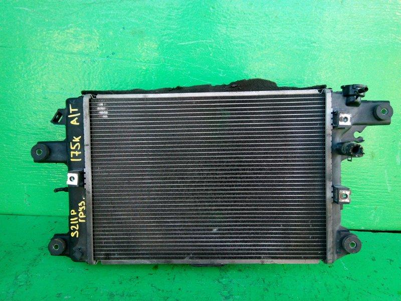Радиатор основной Daihatsu Hijet S211P KF-VE (б/у)