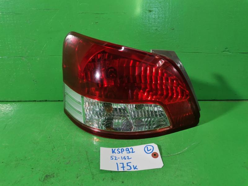 Стоп-сигнал Toyota Belta KSP92 левый (б/у)