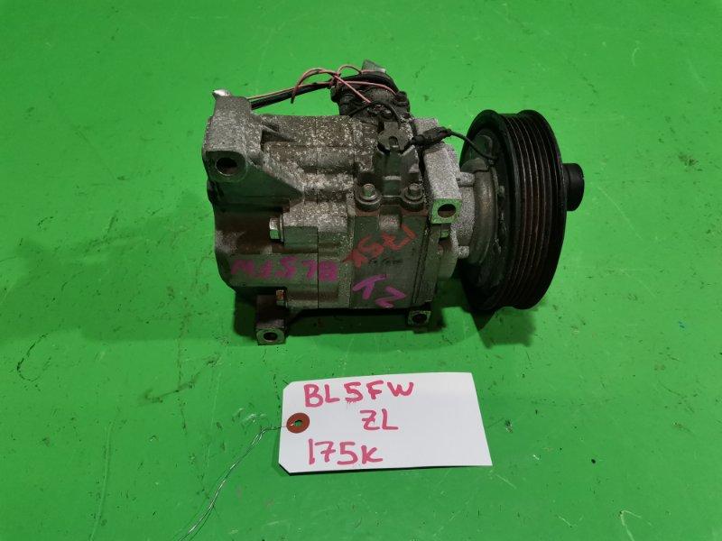 Компрессор кондиционера Mazda Axela BL5FW ZY (б/у)