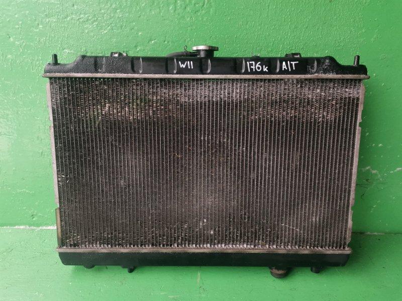 Радиатор основной Nissan Avenir W11 (б/у)