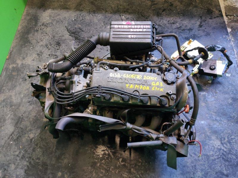 Двигатель Honda Logo GA3 D13B 2000 (б/у)