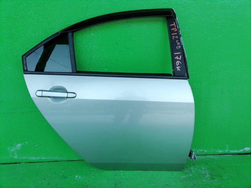 Дверь Nissan Primera P12 задняя правая (б/у)