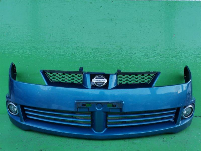 Бампер Nissan Wingroad Y11 передний (б/у)