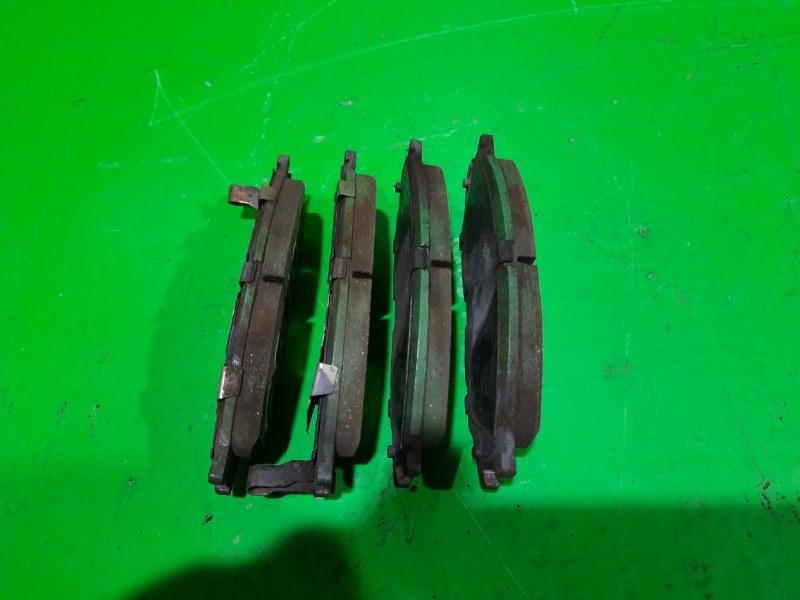 Тормозные колодки Nissan Bluebird Sylphy QG10 переднее (б/у)