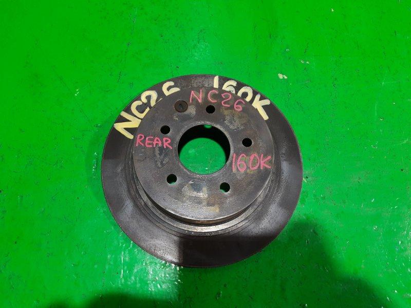 Тормозной диск Nissan Serena C26 задний (б/у)